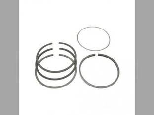 Piston Ring Set - Standard - 6 Cylinder Case 1200 1270 1070 1175 D451 D451 W12 1030