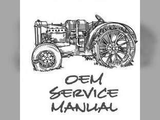Service Manual - KU-S-T1700H+ Kubota T1700HX T1700H