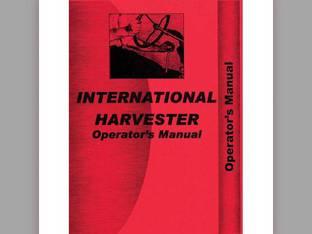 Operator's Manual - IH-O-SUPER W4 International Super W4 Super W4