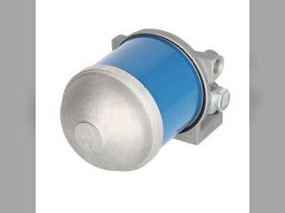 Diesel Fuel Filter Assembly - Metal Bowl Massey Ferguson 35 40 40 165 50 50 135 Ford 4000 5610 6600 4110 4600 2600 5600 2000 3600 3000 5000 Allis Chalmers International Landini Long Oliver FIAT White