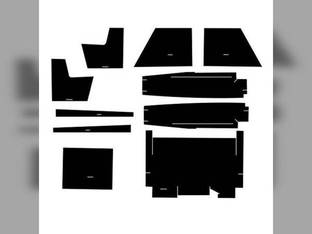 Cab Foam Kit with Headliner 2-Door Black Case 2670 2470