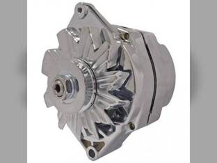 Alternator - Delco Style (7127SE) - Chrome Plated Ford 8N 2N 9N NAA Massey Ferguson TO20