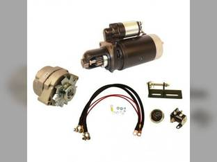 Alternator & Starter Conversion Kit - 24V to 12V John Deere 4010 3010 3020 4020 TY16172