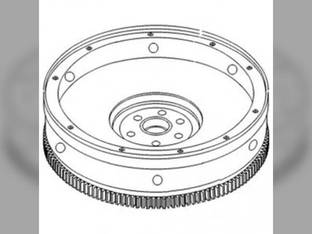 Flywheel With Ring Gear Ford 8730 8730 TW20 TW15 TW15 TW30 8530 8530 TW35 TW35 8830 8830 TW25 TW25 8630 8630 83933404