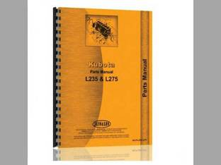 Parts Manual - KU-P-L235 L275 Kubota L275 L235