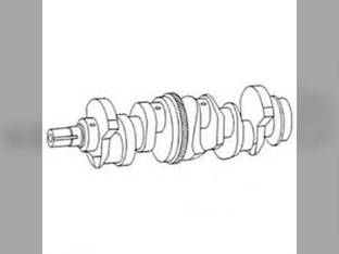 Crankshaft - 78 Tooth Gear - Early Ford 6000 7610 6700 7710 6610 7700 BSD444 7100 7600 6600 7500 7200 268 A62 7000 E5NN6303DA