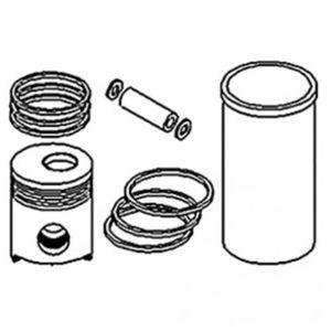 Liner Sealing Ring Kit John Deere 600 4010 500 3010 3020 227 4000 4020 500B 6404D 500A AR40155