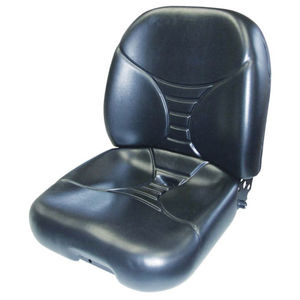 Seat Assembly Vinyl Black New Holland LS160 LS180 LS170 L180 L170 L160 L185 L175 John Deere 325 320 315 240 Bobcat T180 T190 S205 S185 S175 S160 S150 873 863 763 Caterpillar Gehl Mustang Case 1845C