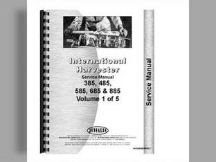 Service Manual - IH-S-85SERERLY Harvester International 585 685 485 Case IH 485 585 685