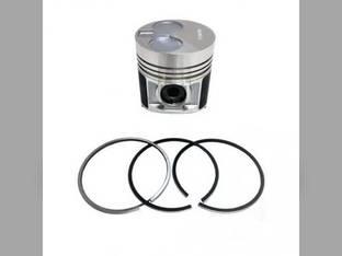 Engine Piston & Ring Set Perkins 404C-22T New Holland Boomer 4055 Boomer 4060 TC55DA T2420 C175 L175 T2410 SBA115017581