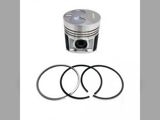 Engine Piston & Ring Set - Standard Perkins 404C-22T Shibaura N844LT-C New Holland TC55DA Boomer 4060 T2420 C175 T2410 Boomer 4055 L175 SBA115017581