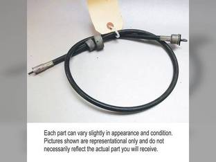 Used Tachometer Cable John Deere 600 4620 4010 500 3010 3300 3020 4420 6600 4520 4000 4020 4320 500A 4400 AR28588