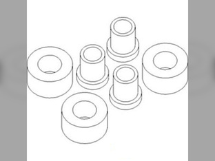 Pump, Hydraulic, Drive Adapter Plate Bushing Set