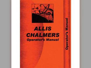 Operator's Manual - D15 Gas Allis Chalmers D15 D15