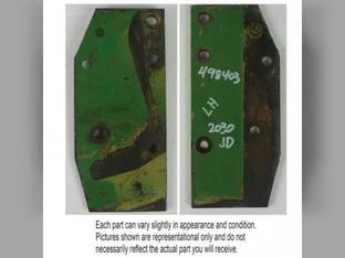 Used Sway Block Support Plate - LH John Deere 830 2630 2750 1130 2120 300 1530 930 1020 2155 820 2440 2350 1630 2040 920 2020 1520 1120 2030 1030 2150 2240 2640 2255 2755 2355 AT20168
