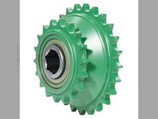 Sprocket - Double Pickup Drive John Deere 435 540 545 550 570 572 580 582 590 592 842 852 862 DC33288