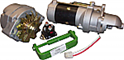 24V to 12V Conversion Kit with Gear Reduction Starter