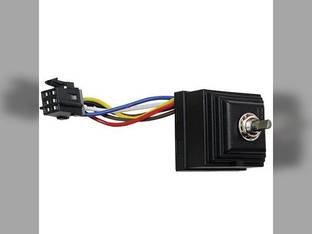 Rotary Wiper Switch Case IH MX285 MX120 MX110 MX170 Magnum 245 MX230 Magnum 275 MX210 CX90 MX80C Magnum 215 MX100 MX305 MX255 MX150 MX90C CX100 CX80 MX245 Magnum 305 MX100C MX135 MX275 MX215 CX70