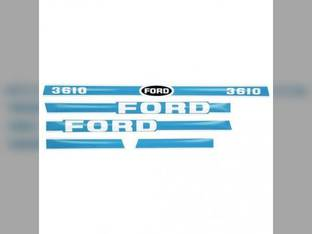 3610 Decal Set Blue/White Ford 3610