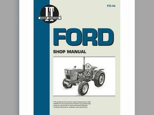 I&T Shop Manual - FO-44 Ford 1200 1200 1110 1110 1500 1500 1710 1710 1300 1300 1900 1900 1210 1210 1100 1100 1510 1510 2100 2100 1310 1310 1910 1910 1700 1700