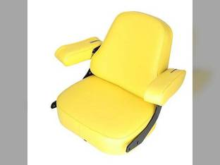 Seat Assembly Super Deluxe Vinyl Yellow John Deere 4050 9400 4630 4240 4010 4450 4640 4230 3010 9410 4250 3020 4650 7700 9510 9600 4455 4000 7720 4020 4430 8430 4040 4030 9610 4440 4850 4320 2520