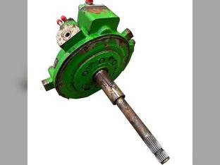 Used Feeder House Reverser Gear Box Assembly John Deere 9560 9570 HEADER.