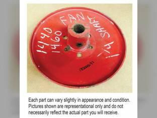 Used Fan Driven Adjustable Pulley International 1482 1480 1460 1420 1470 1440 Case IH 1620 1680 1682 1670 1660 1640 185023C92 185023C93 1324948C1