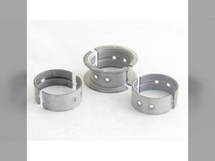 "Main Bearings - .030"" Oversize - Set International 2444 404 2404 424 444 504 2424 2504 375763R11"