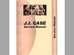 Service Manual - CA-S-D SERIES Case D D