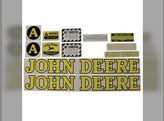 Mylar Decal Set - A Styled 1939 to 1946 John Deere A