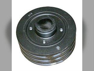 Crankshaft Dampener Pulley Ford 7910 8210 8530 8630 8730 8830 9700 TW10 TW20 TW25 TW30 TW35 TW5 Versatile 276 83957694 D8NN6316AC