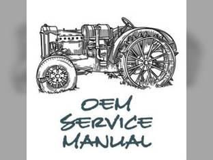 Service Manual - B1550 B1750 B2150 B2150HST Kubota B1750 B1550 B2150