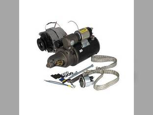 Remanufactured Alternator & Starter Conversion Kit - 24V to 12V John Deere 3010 3020 4010 4020