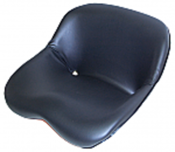 Kub 65 Small Bucket Seat - Black Vinyl