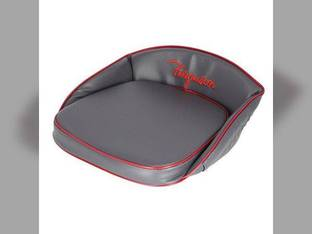 Pan Seat Cushion Deluxe Ferguson Script Vinyl Gray Massey Ferguson TEA20 TO30 TO20 TE20 TO35