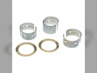"Main Bearings - .020"" Oversize - Set Massey Ferguson TO30 TO20 Continental Z129 Z120"