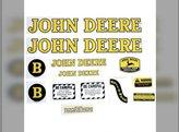 Decal Set - Mylar John Deere B