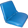 Seat Assembly - Blue Vinyl