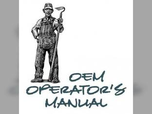 Operator's Manual - IH-O-485 Harvester International 485