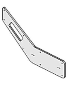 Door Handle Pieces - Original Western Pattern
