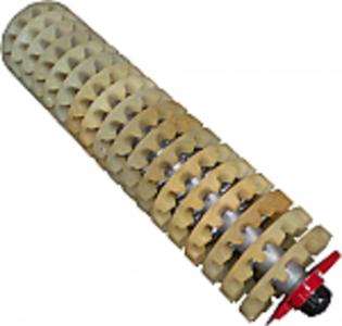Complete 18 Spindle Urethane Doffer Assembly