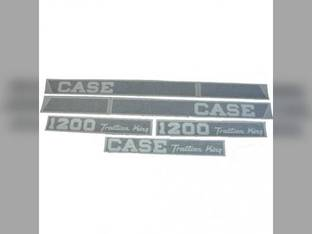 Decal Set Case 1200