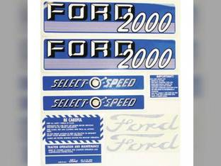 Decal Kit Ford 2000 66886