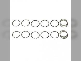 "Piston Ring Set - .120"" Oversize - 2 Cylinder John Deere 530 520 190"
