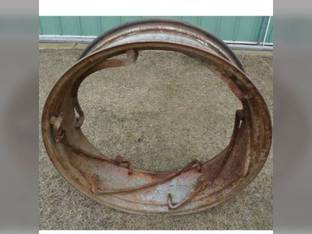 "Used 12"" x 38"" 6 Rail Rear Rim John Deere 2020 70 1010 1520 2510 2630 520 2010 2550 2040 50 2030 2555 60 730 720 2640 620 630 1020 530 2520 International 350 560 584 544 300 400 460 504 450 444 424"