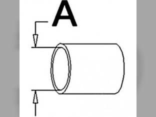 Radiator Hose - Upper Allis Chalmers D17 WD45 70226893