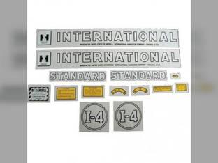 Decal Set International I4