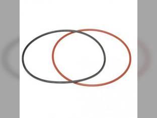 Liner Sealing Ring Kit Oliver 1755 1950T 1650 1655 1955 1600 1855 1750 Waukesha D283 D283 G265 G265 D310T D310T White 2-70 2-78 4-78 Minneapolis Moline G940 G750