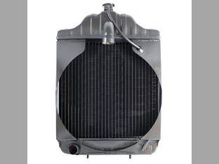 "Radiator using 3/8"" Female Oil Line Fittings Case 530CK 530CK 580CK 580CKB A39345"