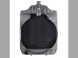 "Radiator using 3/8"" Female Oil Line Fittings Case 580CK 530CK 530CK 580CKB A39345"